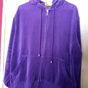 Royale lady zip up hoodie